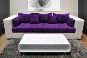 Фиолетовая и сиреневая мягкая мебель - фото - 23077
