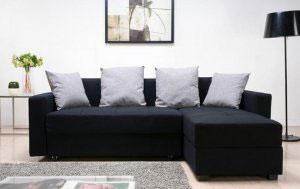 Черная мягкая мебель - фото - 23078