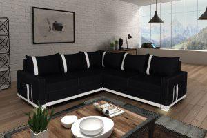 Черная мягкая мебель - фото - 23083