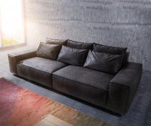Кожаный диван - 23088