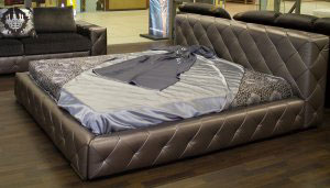 Кровать из кожи - 23089