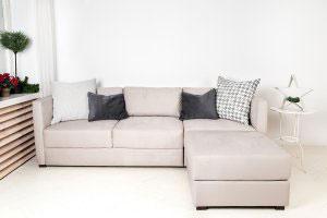 Бежевая и кремовая мягкая мебель - фото - 23094