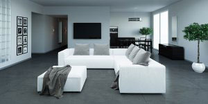 Кожаный диван - 23099