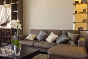 Коричневая мягкая мебель - фото - 23100