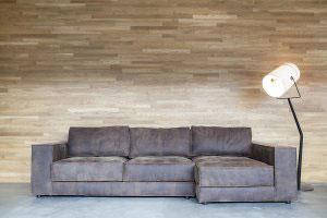 Кожаный диван - 23116