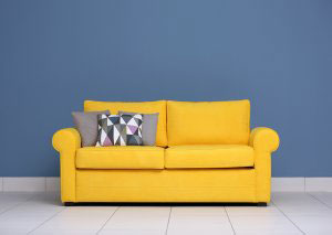Желтая мягкая мебель - фото - 23129