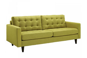 Желтая мягкая мебель - фото - 28917