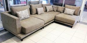Коричневая мягкая мебель - фото - 33116