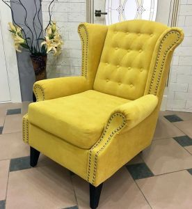 Желтая мягкая мебель - фото - 33119