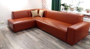 Красная мягкая мебель - фото - 33145