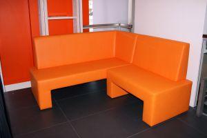 Оранжевая мягкая мебель - фото - 33154