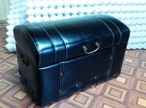 Черная мягкая мебель - фото - 33429