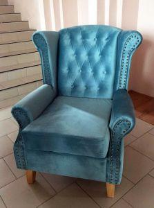 Синяя мягкая мебель - фото - 33597