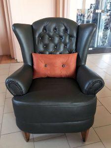 Кожаный диван - 33598