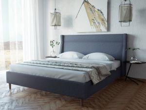 Кровати с мягким изголовьем - фото - 33639