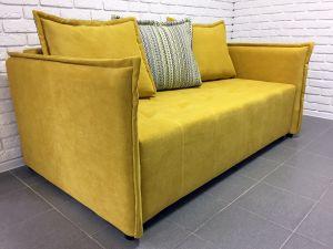 Желтая мягкая мебель - фото - 33825