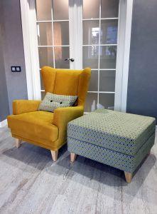 Желтая мягкая мебель - фото - 33827