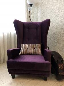 Фиолетовая и сиреневая мягкая мебель - фото - 33836