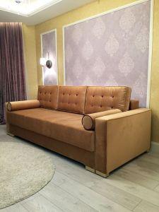 Оранжевая мягкая мебель - фото - 33842