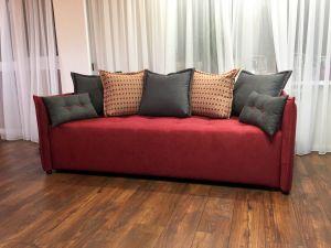 Красная мягкая мебель - фото - 33850