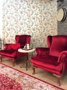 Красная мягкая мебель - фото - 33887