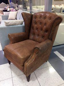 Кожаный диван - 33902