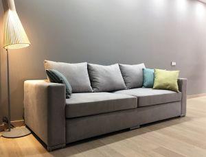Серая мягкая мебель - фото - 33910