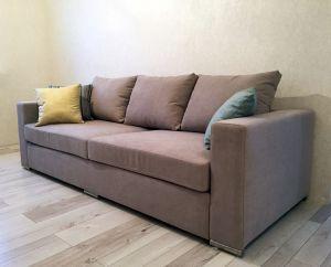 Коричневая мягкая мебель - фото - 33912