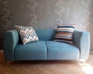 Синяя мягкая мебель - фото - 33951
