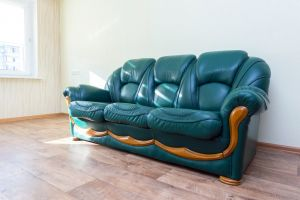 Кожаный диван - 33965