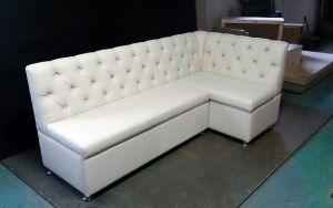 Кожаный диван - 33968