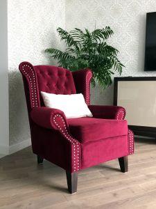Красная мягкая мебель - фото - 33980