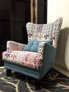Многоцветная мягкая мебель - фото - 33990