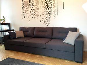 Серая мягкая мебель - фото - 33992
