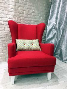 Красная мягкая мебель - фото - 33996