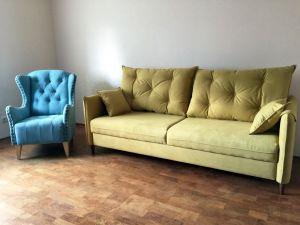 Желтая мягкая мебель - фото - 33997