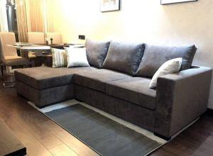 Серая мягкая мебель - фото - 34011