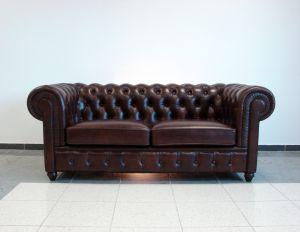 Кожаный диван - 34068