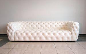 Кожаный диван - 34069