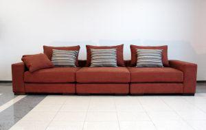 Оранжевая мягкая мебель - фото - 34072