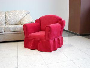 Красная мягкая мебель - фото - 34080