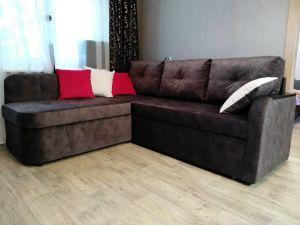 Серая мягкая мебель - фото - 34664
