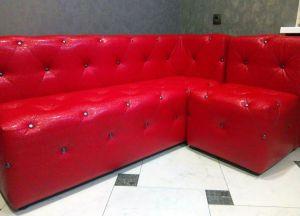 Красная мягкая мебель - фото - 34671
