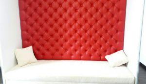Красная мягкая мебель - фото - 34672