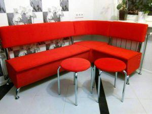 Красная мягкая мебель - фото - 34687