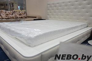 Кровать из кожи - 9243