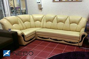 Желтая мягкая мебель - фото - 9776