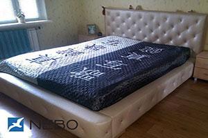Кровать из кожи - 9778