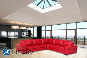 Красная мягкая мебель - фото - 9805