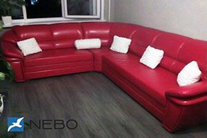 Красная мягкая мебель - фото - 9785